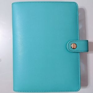 3/$25 Recollections Teal Blue Planner
